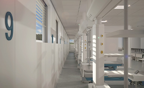 Speed Hospital, Centro Vaccini e Terapia Intensiva, l'Ospedale del Futuro