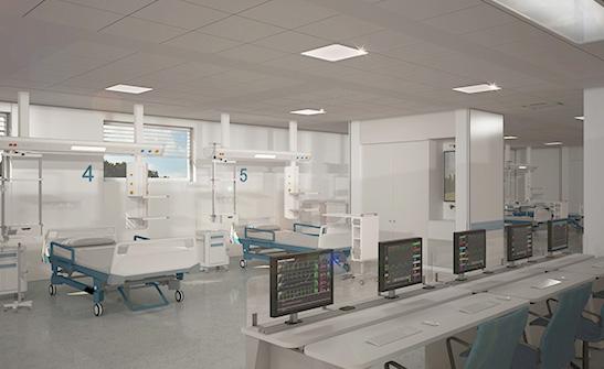 Terapia Intensiva, Speed Hospital, l'Ospedale del Futuro